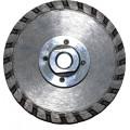 Диск алмазный G/F ф085хM14, с фланцем, для резки/шлифовки гранита