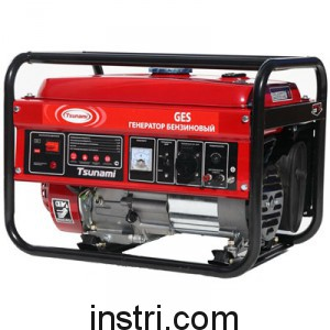 Бензиновый генератор Tsunami GES 5500E