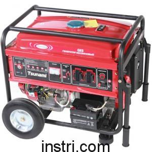 Бензиновый генератор Tsunami GES6500E