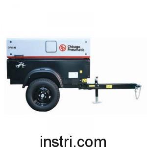 Дизельный компрессор Chicago Pneumatic CPS 90 KDF (с шасси)