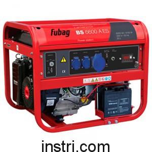 Бензиновый генератор Fubag BS6600AES