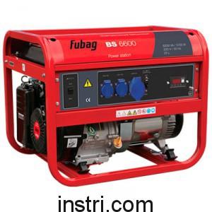 Бензиновый генератор Fubag BS6600