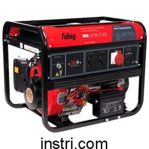 Бензиновый генератор Fubag MS 5700 D ES