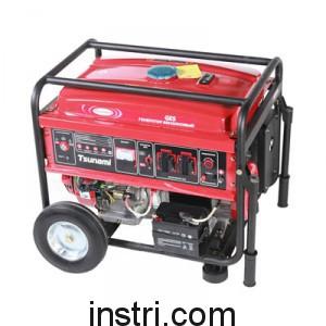 Бензиновый генератор Tsunami GES8000E