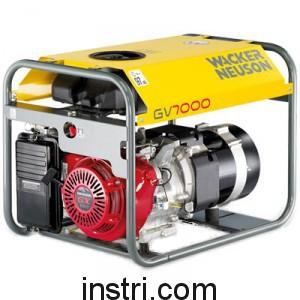 Генератор бензиновый Wacker Neuson GV7000A