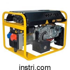 Генератор бензиновый Wacker Neuson GV7003A