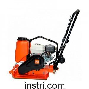 Виброплита Samsan PC 162 (+колеса, бак, рама, ковер) для гравия, песка, смешанных грунтов