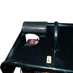 Дизельная реверсивная виброплита ТСС TSS‑VP260DE (колеса, электростарт, АКБ)