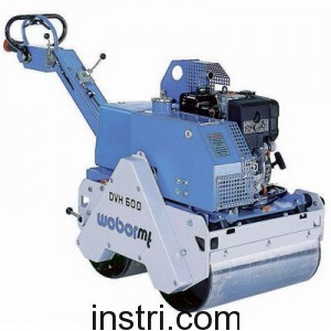 Виброкаток Weber DVH600