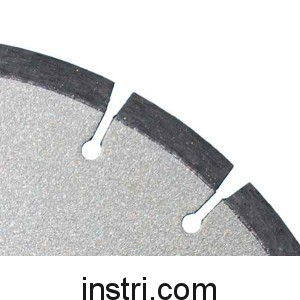 Диск алмазный B/L ф300х25,4 мм, по бетону,  сегментированный
