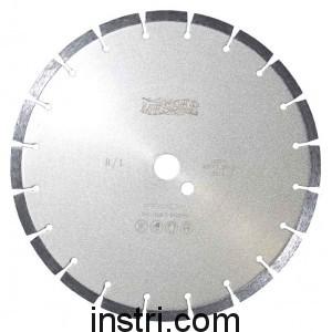 Диск алмазный B/L ф450х25,4 мм, по бетону,  сегментированный