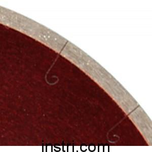 Диск алмазный G/L J-SLOT ф180х22,2/25,4 мм, сплошная кромка
